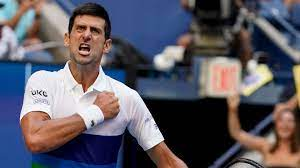 Novak Djokovic lets emotions show ...