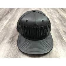 kurupt dr zodiak s moonrock mixtape hip hop rap black leather snapback hat cap