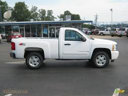 2008 Chevrolet Silverado 1500 Z71 Regular Cab 4x4 in Summit White ...