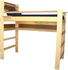 log loft bed with desk um size of loft bed designs bed loft kit cabin blueprints