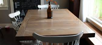 build dining room table. DIY: Dining Room Table Refinish Build