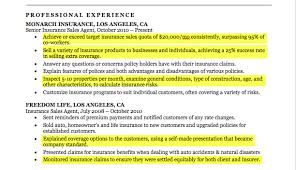 Insurance Representative Resumes Insurance Agent Resume Sample Resume Companion