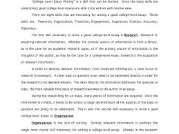 college level essay examples receipt letter for money received good college essays examples haadyaooverbayresortcom good college essays examples 7 satisfying of application essay example for full size sample