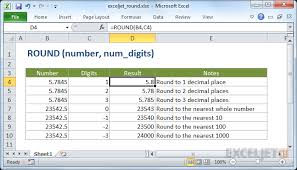 Excel Formula Round A Number To N Significant Digits Exceljet