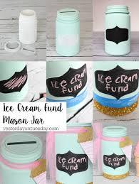 diy ice cream fund mason jar a fun way to recycle a mason jar plus