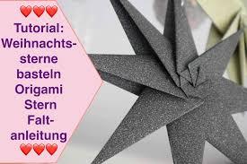 53 Infatuating Tutorials Origami Weihnachtsstern Anleitung 2019
