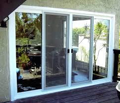 back patio doors large sliding glass doors triple sliding glass door large patio