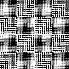 千鳥格子チェック柄のパターン ベクター画像 無料ダウンロード