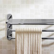 Stainless Steel Bathroom Towel Rack Standard Height Of A Towel - Bathroom towel bar height