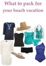 Packing For Vacation Lists The Only Beach Vacation Packing List You Need Styleblueprint