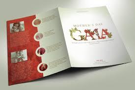 Mothers Gala Program Template On Behance