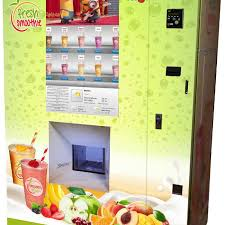 Automatic Smoothie Vending Machine Amazing Fresh Smoothie To Go Home