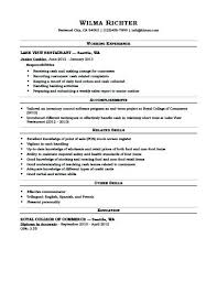 Cashier Experience Resume Examples Cashier Resume Examples Optional