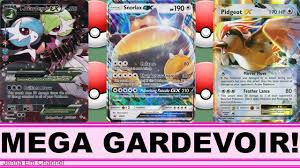 Pokemon Shiny Mega Gardevoir EX VS Snorlax GX & Pidgeot EX ! Jenna Em PTCGO  - YouTube