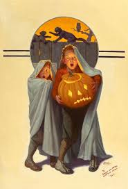 Halloween Scare, The Saturday Evening Post cover, November