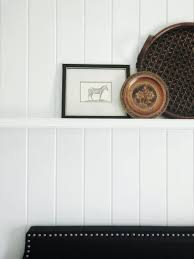 diy shiplap look alike wall from inexpensive tongue and groove honestly designed