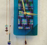 241 Best Fused Glass Clock Projects images in 2020 | Fused glass ...