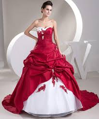 Red And White Wedding Dresses Why Re They Special Carey Fashion