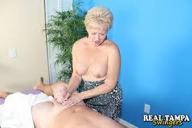 Mature women who give handjobs