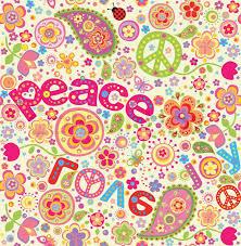 hippie wallpaper vector