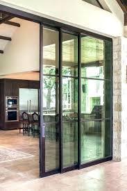 replace sliding glass door with single door cost to replace sliding door with french doors convert
