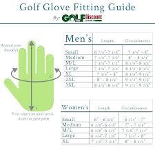Golf Glove Sizes Guide Men Size Chart Nike Zaferkaraman
