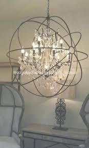 bronze orb chandelier antique