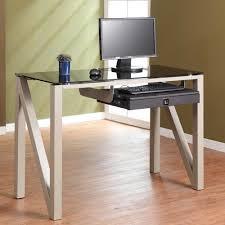 small glass desk ikea