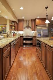 Woods In Warm Rich Medium Brown Tones Were Used To Great Success In