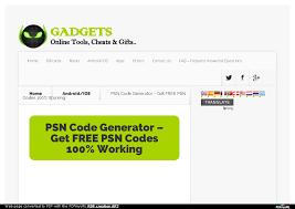 psn code generator get free psn codes 100 working
