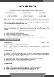 Professional Profile Resume Template Free Resume Templates Professional Profile Template Example Of A 7