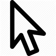 Arrow Click Illustrator Mouse Pointer Select Selection Icon