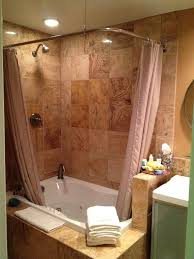 jacuzzi tub shower curtain rod whirlpool combo to replace in master bath best bathroom ideas images on bathrooms and double rods