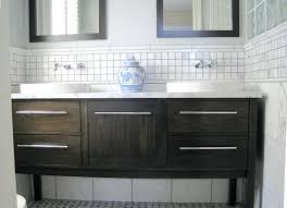 gap between vanity and wall large gap between bathroom vanity and wall co bathroom vanity wall
