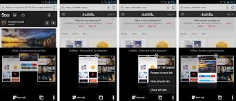 Android Tabs Opera Browser For Android Managing Your Tabs Is Just A Tap Away