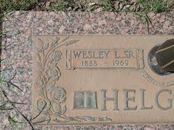 "Wesley Leonard ""Pa"" Helgren, Sr (1888-1969) - Find A Grave Memorial"