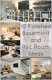 Finish Basement Design Custom 48 Finished Basement And Rec Room Ideas Home Decor Ideas And