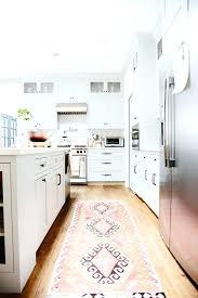 washable kitchen runners kitchen rug runners washable kitchen runners pink tribal rug modern white kitchen interior