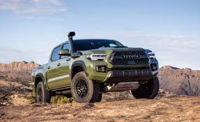 2019 Toyota Color Chart 2020 Toyota Tacoma Gets New Tech Style And Colors
