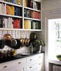 Home Inspiration: Cookbook Shelves