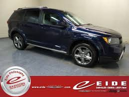 2018 dodge journey crossroad. plain dodge 2018 contusion blue pearlcoat dodge journey crossroad suv automatic 36l v6  24v vvt engine awd in dodge journey crossroad