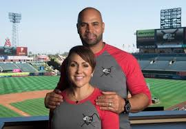 He also has attended restoring honor rallies, has a pujols family foundation and is a proud christian. How Albert Pujols And His Wife Deidre Brought The Fight Against Sex Trafficking To Angel Stadium Orange County Register
