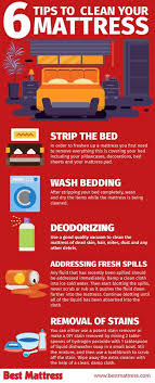 6 tips to clean your mattress