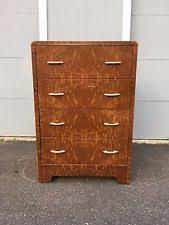 vintage metal dresser hospital furniture 5. vintage art deco joseph turk metal 4 drawer dresser faux wood simmons geddes hospital furniture 5