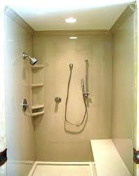 showers shower walls cost the onyx collection gallery of installed corian tub surround kits this