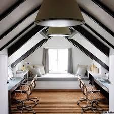 attic home office. amnager des combles selon leur surface exploitable attic office home