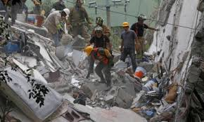 Resultado de imagem para Após 32 anos, novo terremoto devasta o México e deixa 217 mortos
