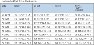 Jacket Length Chart Point 2 Air Jacket Sizing Guide