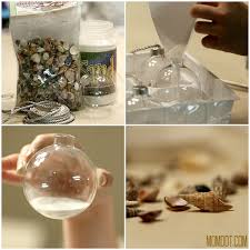 Beach Themed Bulb Ornaments DIY Tutorial, Be inspired to make Christmas  beach ornaments in a tutorial and craft that is fun for the whole family.