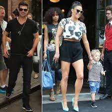 robin thicke and paula patton 2015. Delighful Robin Robin Thicke Accused Of Excessively Spanking His Son On And Paula Patton 2015 B
